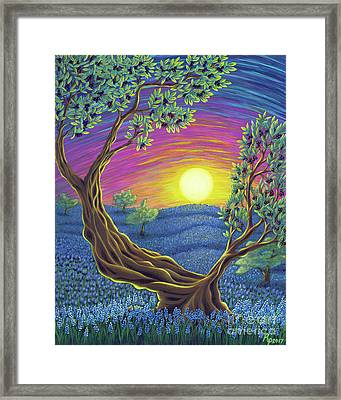 Sunsets Gift Framed Print