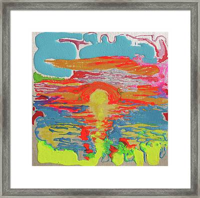 Sunsetting #1 Framed Print by Joseph Demaree