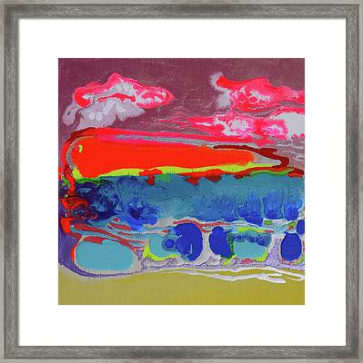 Sunsetting #2 Framed Print by Joseph Demaree