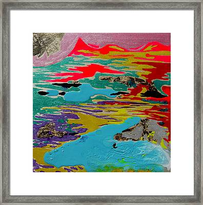 Sunsetting #4 Framed Print by Joseph Demaree