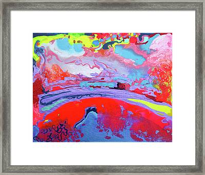 Sunsetting #8 Framed Print by Joseph Demaree