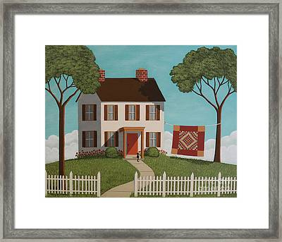 Sunshine And Shadow Framed Print