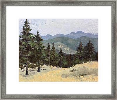 Sunshine Canyon Framed Print