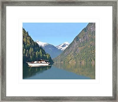Sunshine Coast Cruising Framed Print by Jack Pumphrey