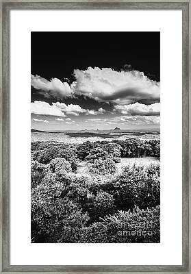 Sunshine Coast Hinterland Lookout Framed Print by Jorgo Photography - Wall Art Gallery