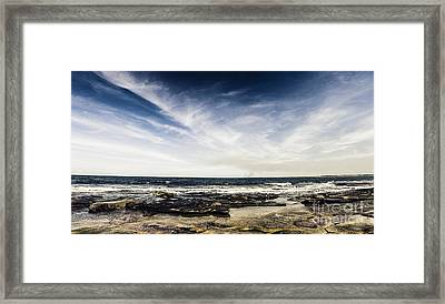 Sunshine Coast Landscape Framed Print by Jorgo Photography - Wall Art Gallery