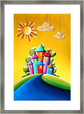 Sunshine Day Framed Print by Cindy Thornton