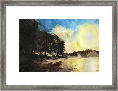 Sunshine Is Fine Framed Print