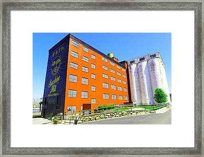 Sunshine Mill Winery The Dallas Oregon Framed Print by Jeff Swan