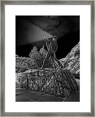 Sunshine Mine Disaster Memorial -  Idaho State Framed Print by Daniel Hagerman