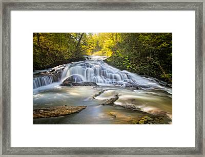 Sunshine On Silk Framed Print