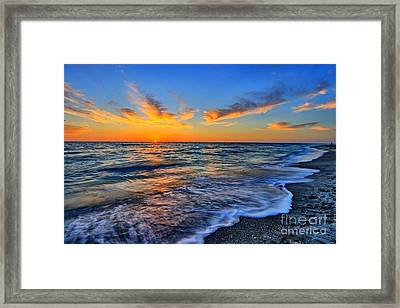 Framed Print featuring the photograph Sunshine Skies by Scott Mahon