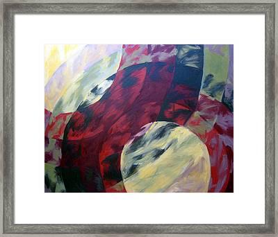 Sunshine Spectrum Framed Print by Menucha Citron