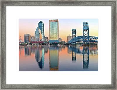 Sunshine State Sunrise Framed Print