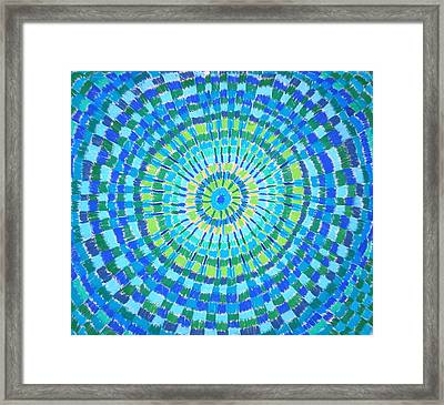 Sunshine Through The Rain Framed Print by Gregory Young
