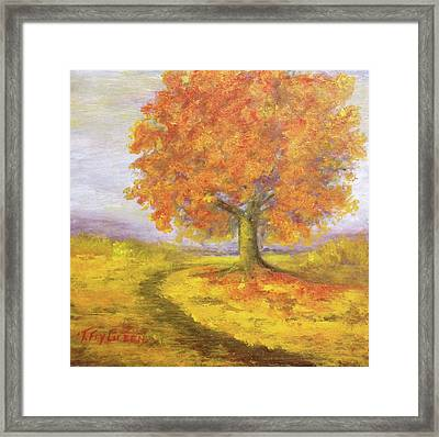 Sunshiney Kind Of Morning Framed Print by T Fry-Green