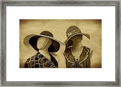 Suntan Framed Print