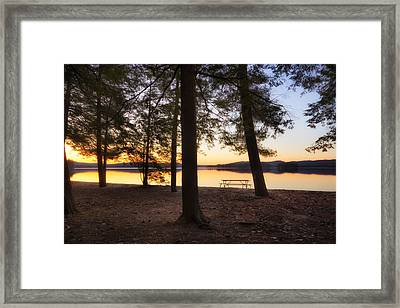 Framed Print featuring the photograph Sunup by Robert Clifford