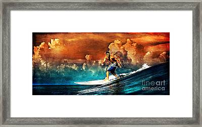 SUP Framed Print