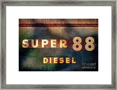 Super 88 Diesel Framed Print by Olivier Le Queinec