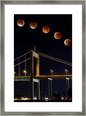 Super Blood Moon Framed Print by Arvid Bjorkqvist