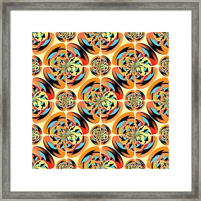 Super Colors Framed Print