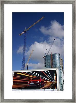 Super Highway Framed Print by Jez C Self