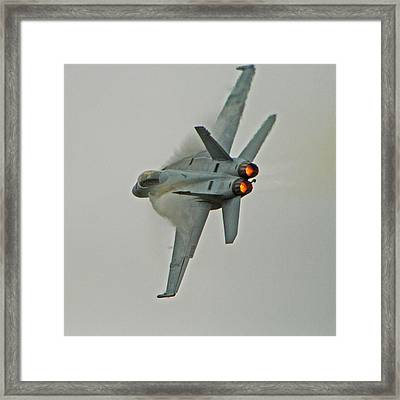 Super Hornet Framed Print by Paul Owen