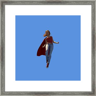 Super Hottie Framed Print by Nelson Nieves