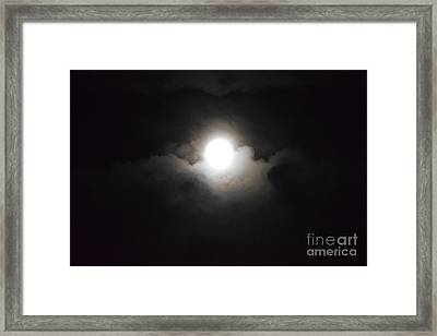 Super Moon 1 Framed Print