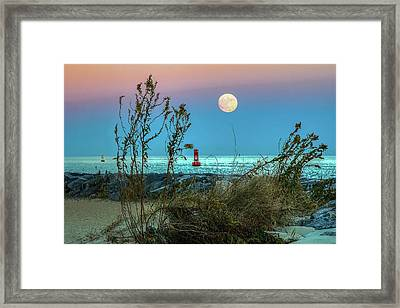 Super Moon 2016 Framed Print by Jerry Gammon