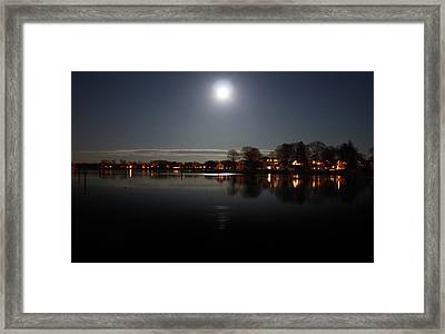 Super Moon  Framed Print by Mark Ashkenazi