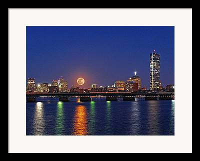 Prudential Center Framed Prints