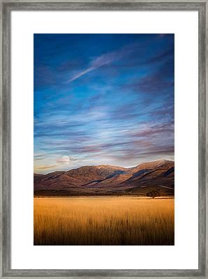 Super Moon Rise Framed Print