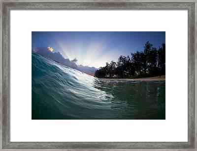 Super Nova Framed Print by Sean Davey