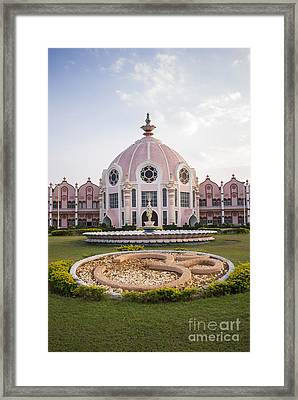 Super Speciality Hospital Puttaparthi Framed Print by Tim Gainey