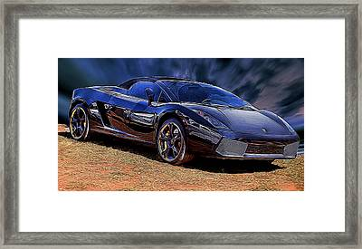 Super Speed Framed Print
