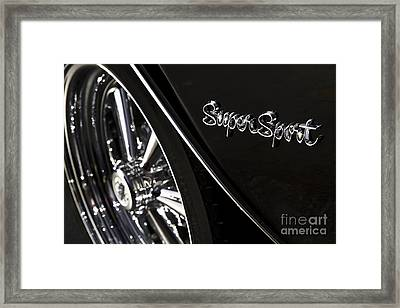 Super Sport Framed Print by Dennis Hedberg