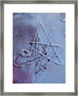 Super Star Framed Print by Lindie Racz