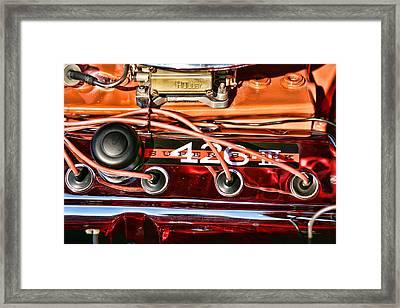 Super Stock Ss 426 IIi Hemi Motor Framed Print by Gordon Dean II