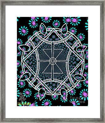 Super Symmetry Framed Print by Alexander Ladd