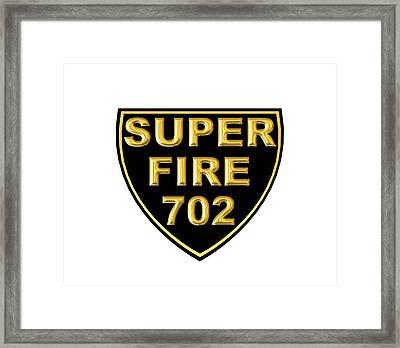 Superfire 702 Framed Print