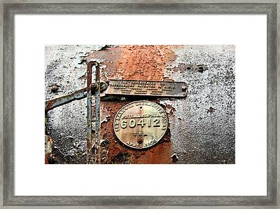 Framed Print featuring the photograph Superheater by Kristin Elmquist