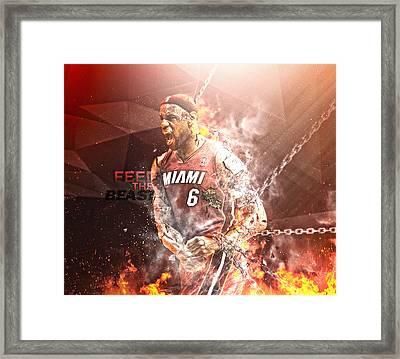 Superhuman Framed Print