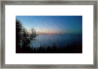 Superior Dawn Framed Print