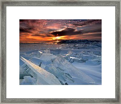 Framed Print featuring the photograph Superior Glass by Gregory Israelson