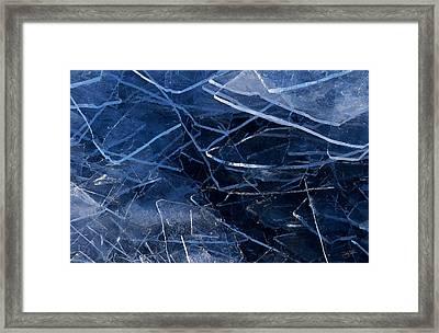 Superior Ice Framed Print