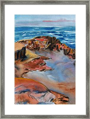 Superior Puddles Framed Print by Patricia Bigelow