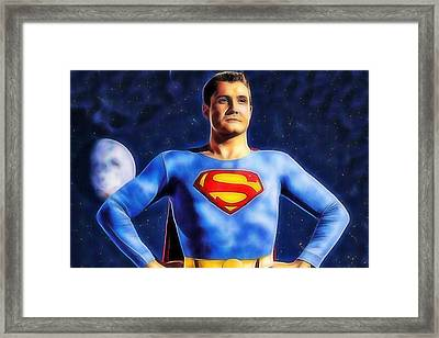 Superman George Reeves Collection Framed Print