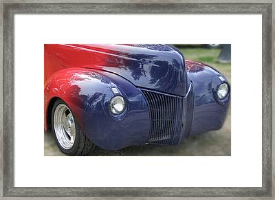 Superman's Car Framed Print by Gary Baird